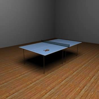 Mesa de ping pong, en Juegos – Muebles equipamiento