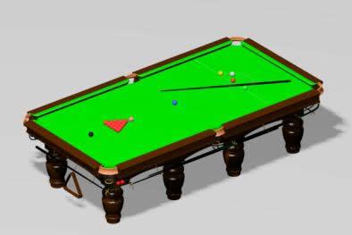 Mesa de pool – casino 3d, en Juegos – Muebles equipamiento