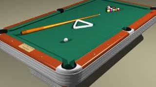 Planos de Mesa de pool, en Juegos – Muebles equipamiento