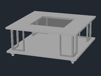 Planos de Mesa de sala 3d, en Mesas y juegos de comedor 3d – Muebles equipamiento