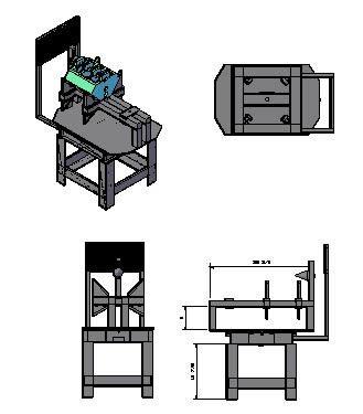 Planos de Mesa de torque a block 3d, en Ventilación – Instalaciones
