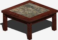 Planos de Mesa lateral, en Mesas y juegos de comedor 3d – Muebles equipamiento
