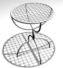 Mesa para exteriores, en Mesas y juegos de comedor 3d – Muebles equipamiento