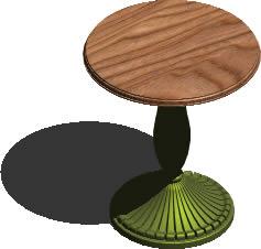 Planos de Mesa pasa bar 3d con materiales, en Mesas y juegos de comedor 3d – Muebles equipamiento