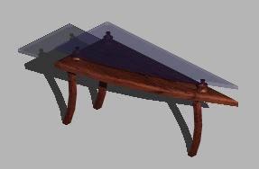 imagen Mesa ratona 3d, en Mesas y juegos de comedor 3d - Muebles equipamiento