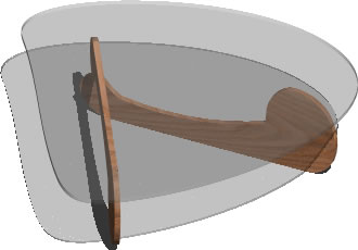 Planos de Mesa sala noguchi 3d, en Mesas y juegos de comedor 3d – Muebles equipamiento