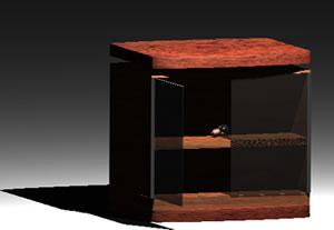 Planos de Mesa tv 3d, en Salas de estar y tv – Muebles equipamiento
