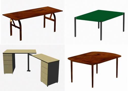 imagen Mesas_escritorios 3d, en Escritorios - Muebles equipamiento
