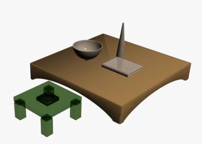 Mesas ornamentales, en Mesas y juegos de comedor 3d – Muebles equipamiento