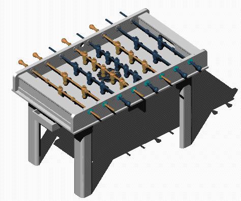 Planos de Metegol 3d, en Juegos – Muebles equipamiento
