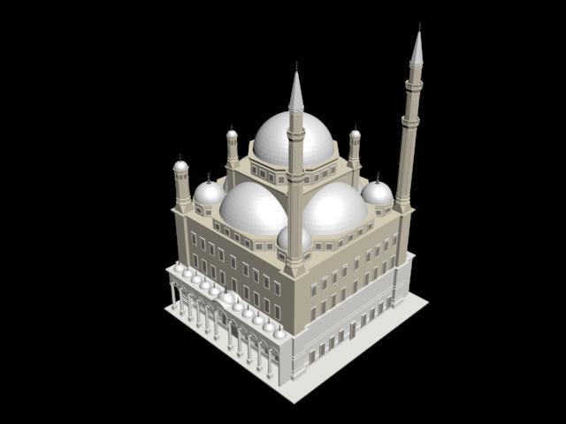 Mezquita 3d, en Arq. religiosa – Proyectos