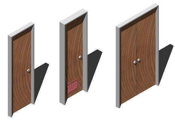 imagen Mobiliario 3d puertas y ventanas, en Puertas 3d - Aberturas