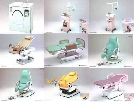 imagen Mobiliario medico, en Equipamiento - Hospitales