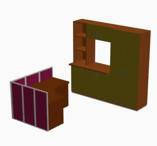 Mobiliario oficina, en Oficinas y laboratorios – Muebles equipamiento