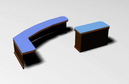 imagen Mobiliario para oficina.  atencion al cliente, en Escritorios - Muebles equipamiento