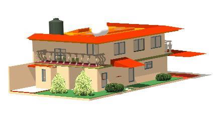 Planos de Modelo 3d casa, en Proyectos varios – Proyectos