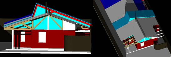 Modelo 3d vivienda quiñones, en Vivienda unifamiliar 3d – Proyectos