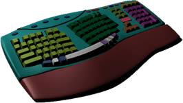 imagen Modelo de teclado estilo microsoft, en Informática - Muebles equipamiento