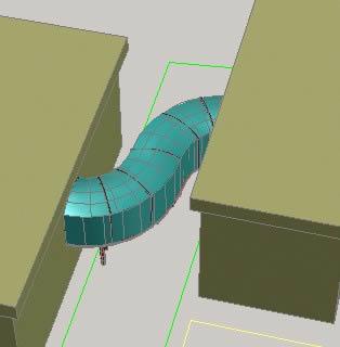 Planos de Modelo en 3d de un paso a desnivel, en Proyectos varios – Proyectos
