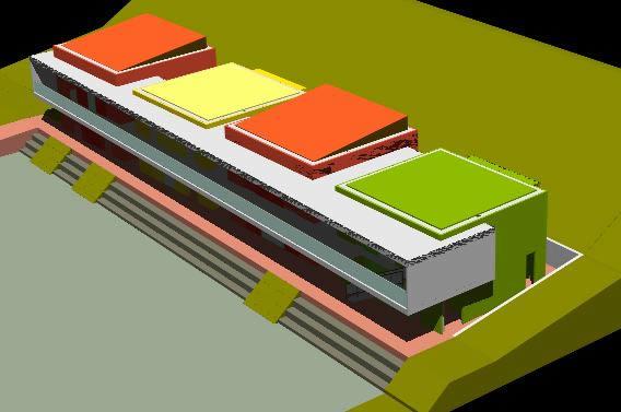 Planos de Modelo hogar comunitario 3d, en Centros comunitarios – Proyectos
