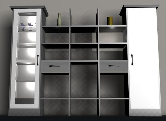 Modular bo -3d, en Muebles varios – Muebles equipamiento