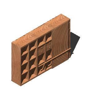 Planos de Modular en 3d, en Estanterías y modulares – Muebles equipamiento