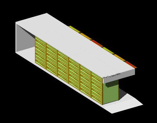 Planos de Modulo de ventas., en Centros de información y recepción – Muebles equipamiento
