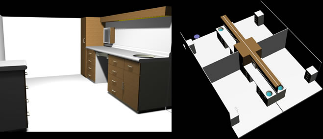 Planos de Módulo odontologico, en Proyectos – Hospitales