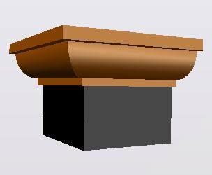 Planos de Molduas: cuarto bocel, en Molduras de madera – Detalles constructivos