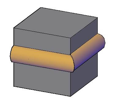Planos de Molduras 3d. junquillo, en Molduras de madera – Detalles constructivos