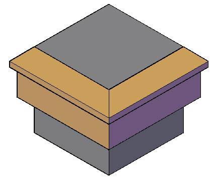 Planos de Molduras 3d. lacrimal, en Molduras de madera – Detalles constructivos