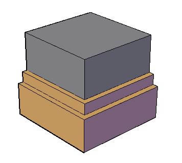 Planos de Molduras 3d. plinto, en Molduras de madera – Detalles constructivos