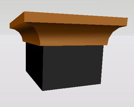 Planos de Molduras: caveto, en Molduras de madera – Detalles constructivos
