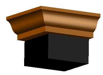 Planos de Molduras: gola, en Molduras de madera – Detalles constructivos