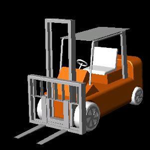 Planos de Monta cargas 3d, en Maquinaria – Obradores