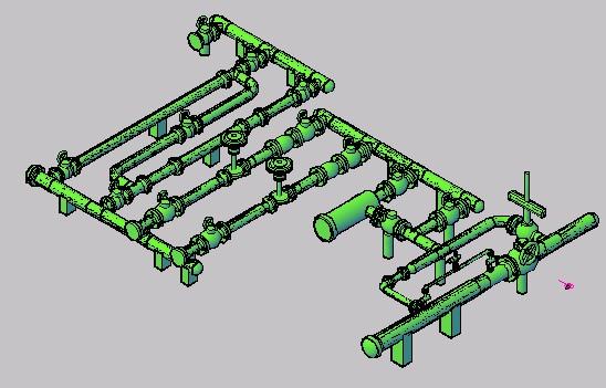 Planos de Montaje 3d – instalaciones industriales, en Maquinaria e instalaciones industriales – Máquinas instalaciones