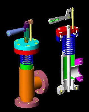 Planos de Montaje de válvula., en Equipos de bombeo – Máquinas instalaciones