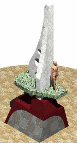 imagen Monumento 3d, en Electricidad - Instalaciones