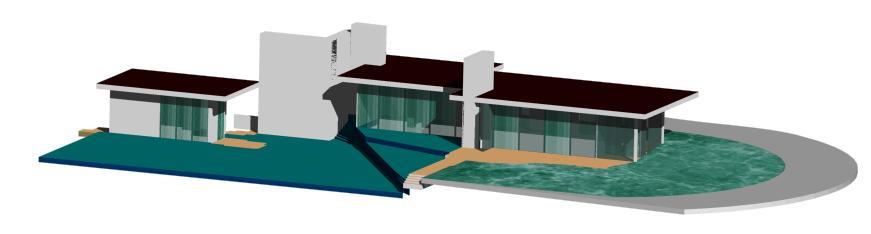 Planos de Moore house – richard neutra, en Obras famosas – Proyectos