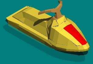 Planos de Moto acuatica 3d, en Embarcaciones – Medios de transporte