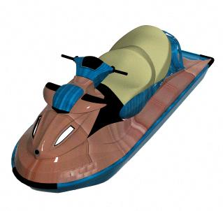 Moto acuatica 3d, en Embarcaciones – Medios de transporte