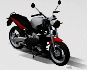 Moto bmw 1100, en Motos y bicicletas – Medios de transporte