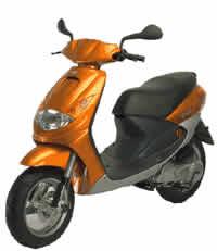 imagen Motocicleta vivacity, en Automóviles - fotografías para renders - Medios de transporte