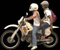 Motociclistas, en Fotografías para renders – Personas