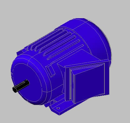 Planos de Motor electrico, en Maquinaria e instalaciones industriales – Máquinas instalaciones