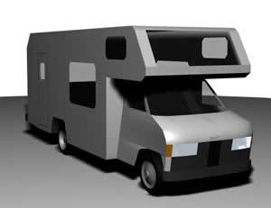 Motor home, en Utilitarios – Medios de transporte
