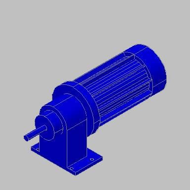 Planos de Motorreductor 3, en Maquinaria e instalaciones industriales – Máquinas instalaciones