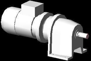 Planos de Motorreductor colineal de 1hp, en Maquinaria e instalaciones industriales – Máquinas instalaciones