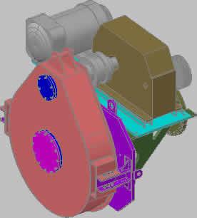 Planos de Motorreductor, en Maquinaria – proyectos varios – Máquinas instalaciones