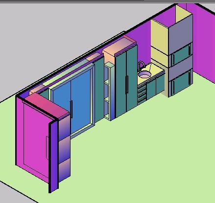 Planos de Movel para garagem em 3d, en Muebles varios – Muebles equipamiento